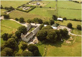 Castleturvin House aerial view image