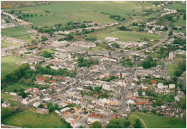 Athenry aerial view